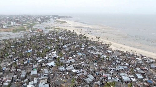 Death toll in Mozambique cyclone, flooding rises above 200 - president