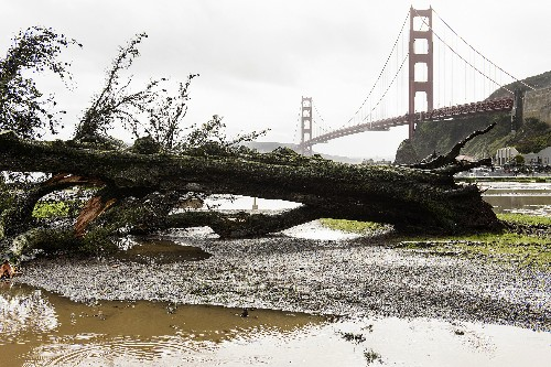 Storm creates chaos in California with flooding, mudslides