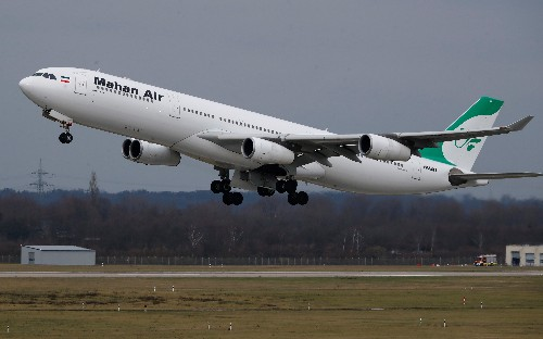 Germany bans Iranian airline from its airspace after U.S. pressure