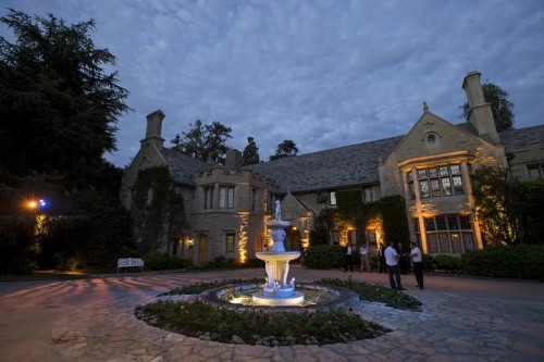 Hefner's Playboy mansion listed for sale for $200 million