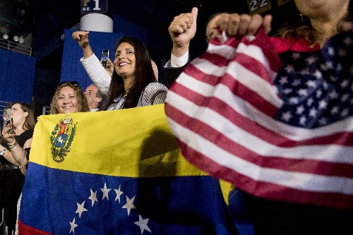 Trump pleads with Venezuela's military to back Guaido