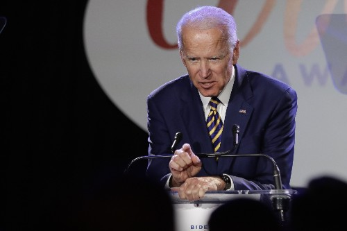 The Latest: Biden team says he has spoken with Anita Hill