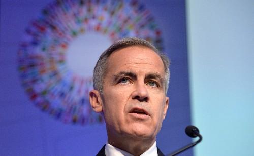BOE's Carney says Johnson's Brexit deal 'net economic positive': BBC reporter tweet