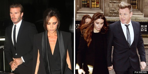 Gordon And Tana Ramsay's Transformation Into Clones Of Their Mates David And Victoria Beckham Is Complete (PICS)