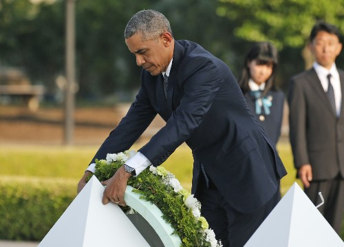 Obama Visits Hiroshima: Pictures