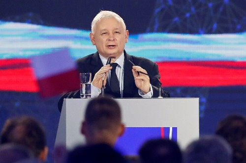 Poland's ruling nationalists seek to broaden appeal as election nears