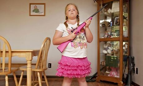 Armed to the milk teeth: America's gun-toting kids