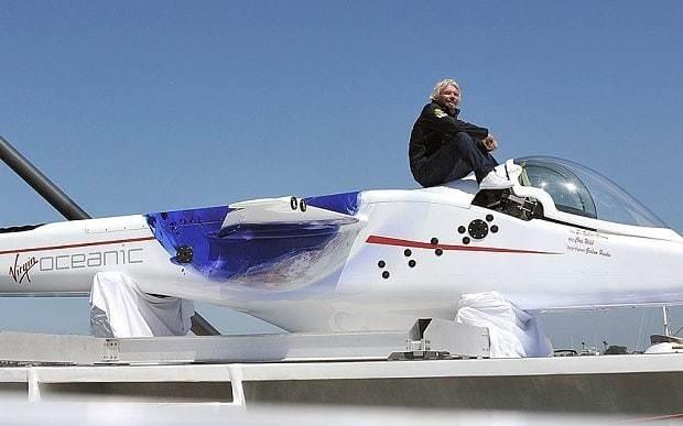 Sir Richard Branson quietly shelves Virgin submarine plan