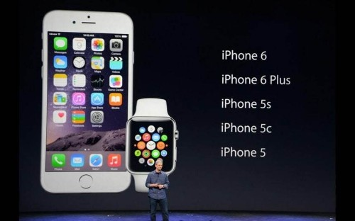 Apple launches iPhone 6, 6 Plus and Apple Watch