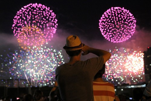 Fireworks Light Up the Sky on July 4th: Pictures