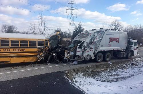 School bus crash injures 21, 1 student seriously hurt