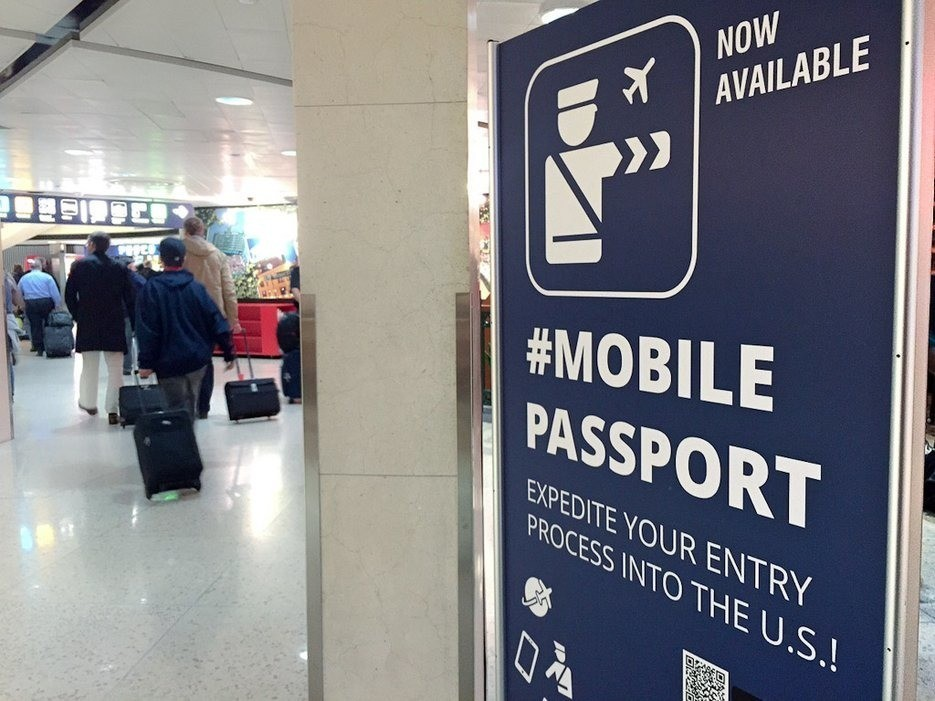 The Fastest Way Through Customs Is With Your Phone