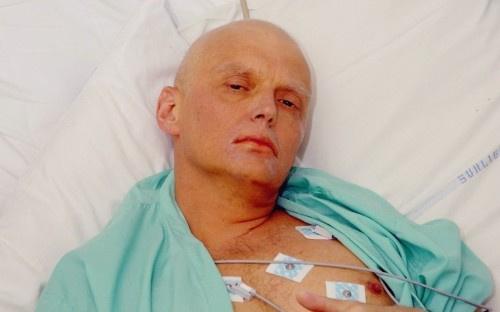 Alexander Litvinenko's beyond the grave attack on Putin.
