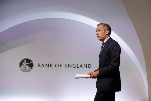Banca d'Inghilterra taglia previsioni crescita su timori Brexit, conferma tassi