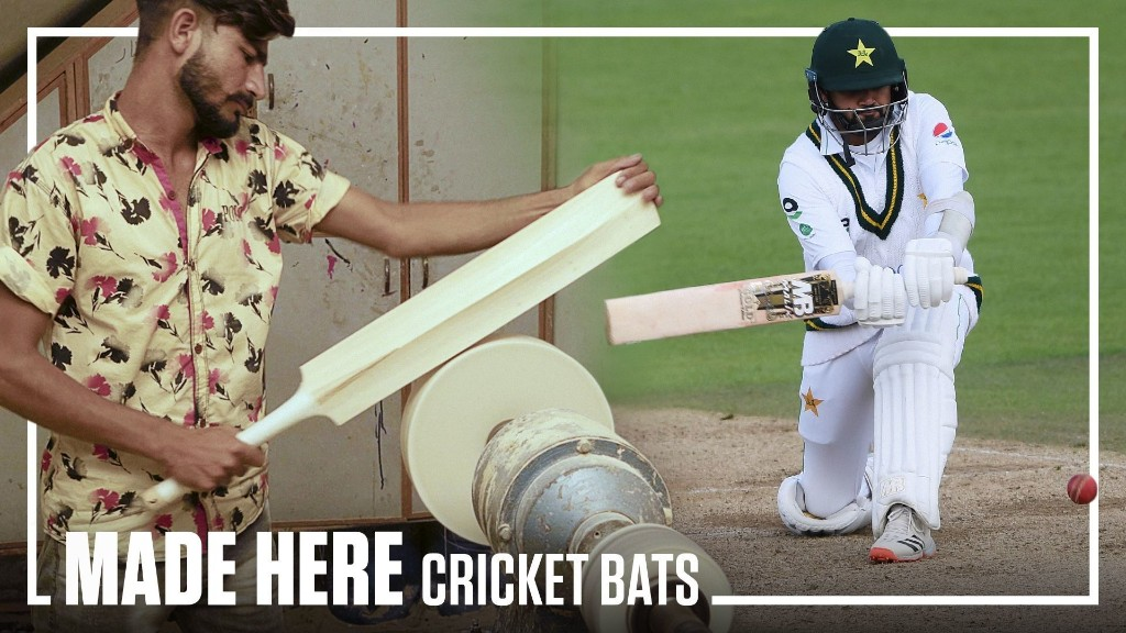 MADE HERE: How Cricket Bats are Made