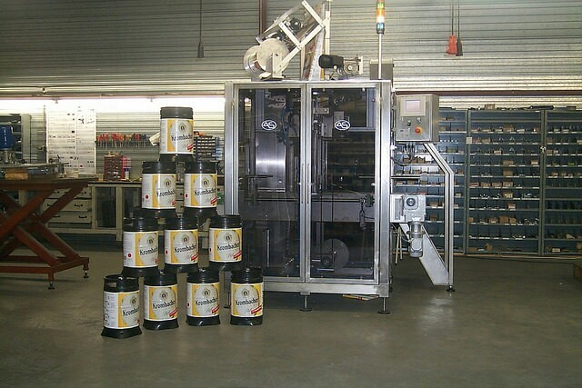 KEG sleever for Krombacher Germany