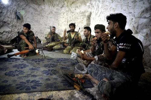 Last stand: Syria's rebel Idlib prepares for a losing battle