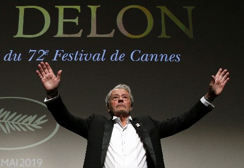 Delon honoured at Cannes as festival shrugs off criticism