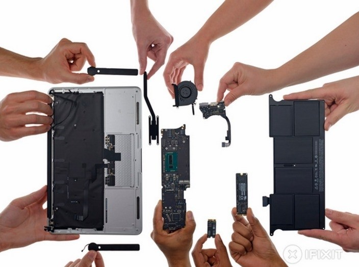 iFixit dismantles the early 2015 MacBook Airs, finds small changes to past designs