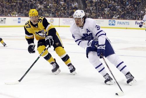 Kahun, Penguins pound Maple Leafs 6-1