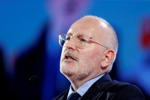 European Commission's Timmermans meets hostile reception in Hungary: report