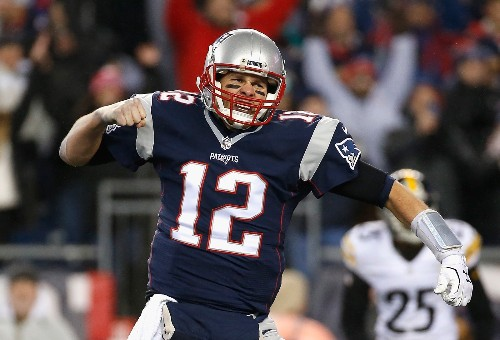 Pats Rout Steelers, Falcons Crush Packers: Pictures