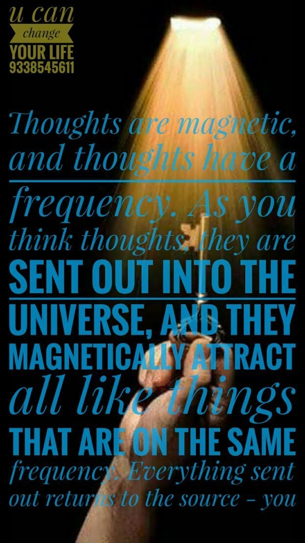 Change your thoughts And Change your Life