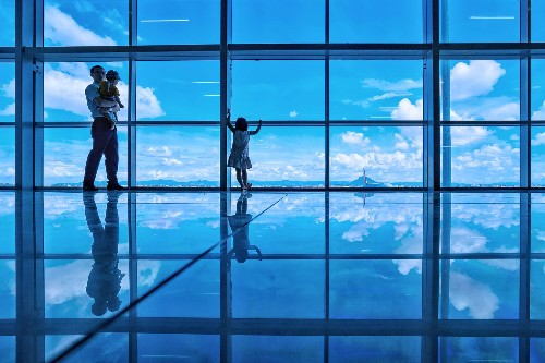 The Unexpected Beauty of Airports