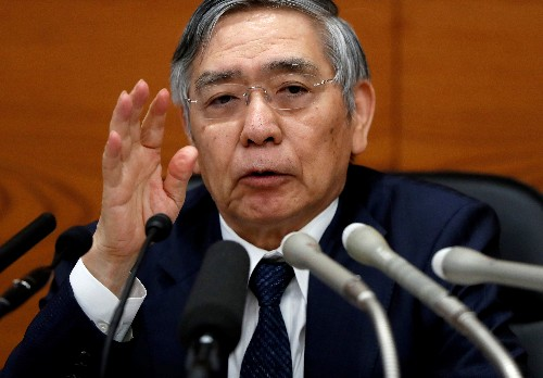 BOJ's Kuroda issues fresh warning of broad fallout from trade war