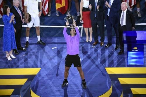 Factbox: U.S. Open champion Rafael Nadal