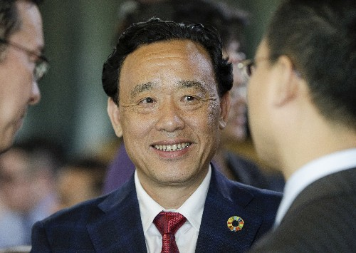 The Latest: China's Qu Dongyu is new chief of UN food agency