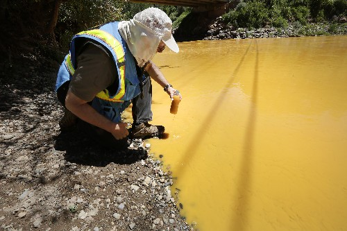 50M gallons of polluted water pours daily from US mine sites