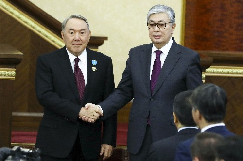 New Kazakh president sworn in after longtime leader resigns