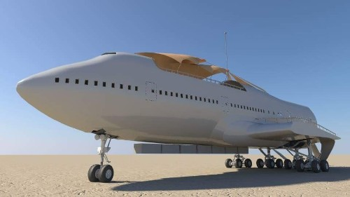 Working 24-7 To Bring a 747 To Burning Man