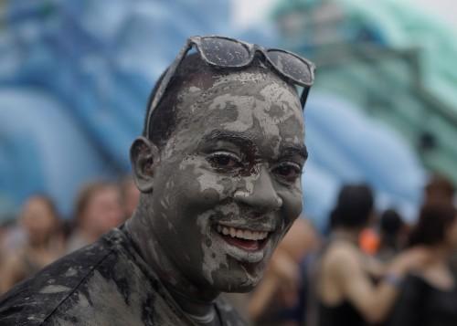 Annual Boryeong Mud Festival in South Korea