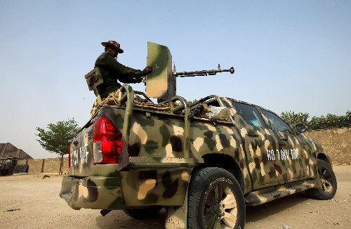 Islamic State fills the void in Nigeria as soldiers retreat to 'super camps'