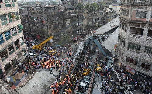 Overpass Collapses in India: Pictures