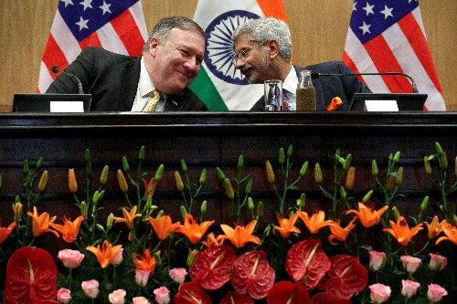 Pompeo meets PM Modi for talks on trade, defence