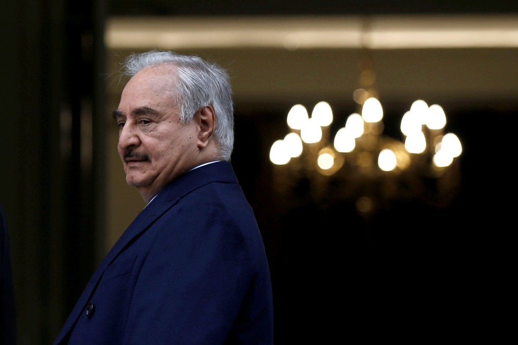 Libya's Haftar says army has decided to resume output of oil