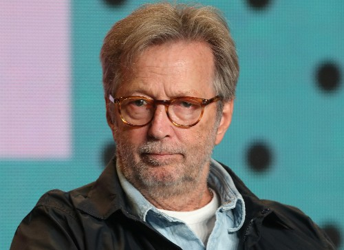 Eric Clapton says 'not easy' watching his own documentary