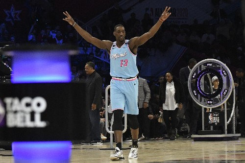 The Latest: Miami's Derrick Jones Jr. wins slam dunk contest