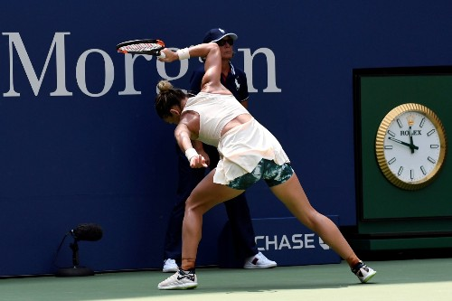 Highlights from the First Round of the US Open: Pictures