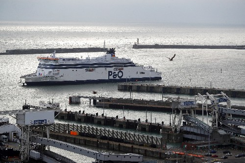 P&O to change flag of UK ships to Cyprus ahead of Brexit