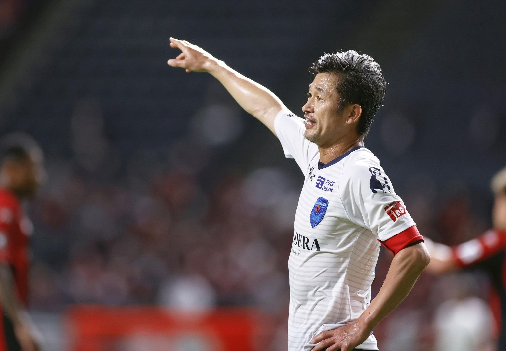 'King Kazu' sets J-League record at age 53