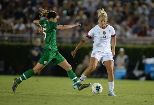 U.S. women cruise to 3-0 win over Ireland in stateside return