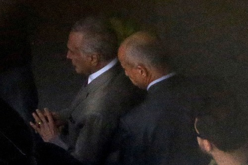 Brazil's ex-President Temer jailed, accused of heading 'criminal organisation'