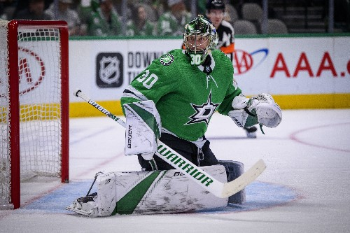 Benn leads sizzling Stars to blowout of Canucks