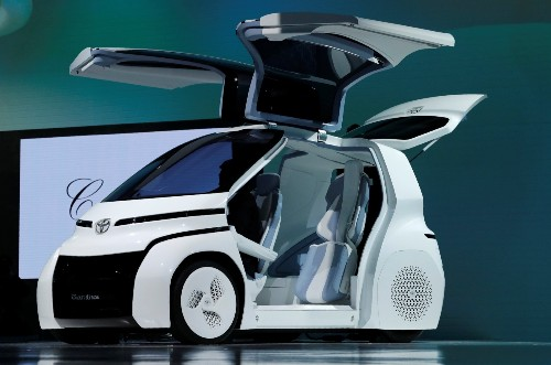 Seeing the Future at the Tokyo Motor Show: Pictures