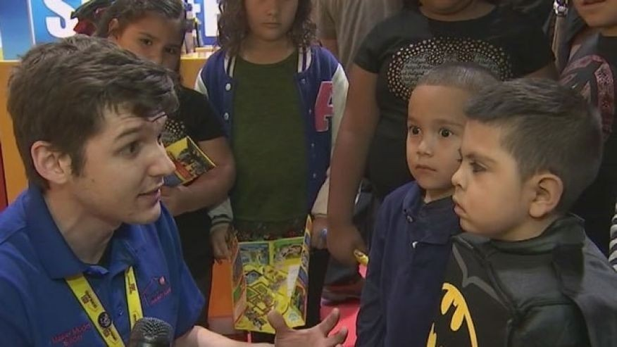 6-year-old Battling Brain Cancer Celebrates Birthday With Superhero-themed Party
