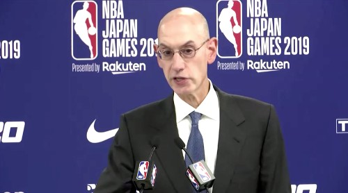 NBA Commissioner says league hit by huge financial losses due to Hong Kong tweet
